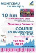 10 Km Moncteau les Mines, Courir en Bourgogne du Sud
