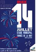 Blanzy :  Festivités du 14 juillet