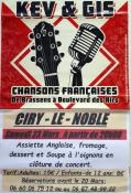 """""""Kev & Gis"""" en concert à Ciry(le-Noble (Sortir)"""