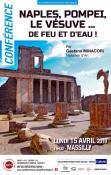 """Conférence """"Naples, Pompéi, le Vésuve.... De feu et d'eau"""" à Massilly"""