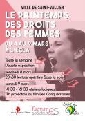 Printemps des Droits des Femmes à Saint-Vallier