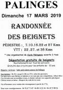Randonnée des beignets des Cyclos Palingeois (Sortir)