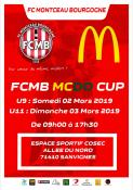 """Tournoi U9 et U11 : """"la FCMB Mc DO CUP"""" (Foot)"""