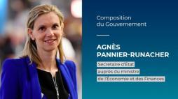 Agnès Pannier-Runacher, secrétaire d'État auprès du ministre de l'Economie et des Finances au Creusot (Politique)