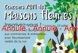 Concours des maisons fleuries de Saint-Vallier