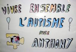 Association Vivre ensemble l'autisme avec Anthony (Bassin minier)