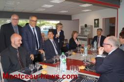 Visite d'André Accary dans le canton de Montceau-les-Mines