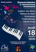 Audition des classes de piano du CRC (Montceau)