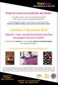 Concours bûche de Noël au Salon Régal'Expo