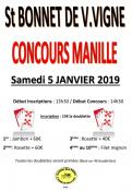 Concours de manille à Saint Bonnet-de-Vieille-Vigne (Sortir)