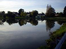 Etang du Bois Dernier (Bois d'Arrêt) à Saint Bérain sous Sanvignes