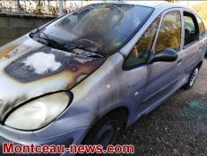 Ce dimanche après-midi, voiture incendiée à Montceau