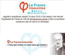 La France insoumise en bassin montcellien