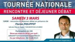 Tournée nationale de Florian Philippot (Politique)