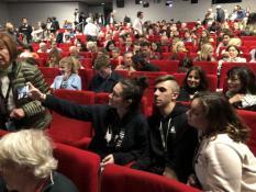 Jour 1 du voyage des élèves de l'option cinéma du Lycée Parriat au Festival de Cannes