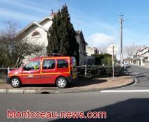 Incendie à Montceau