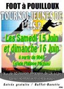 Tournoi jeunes de l'E.S. Pouilloux (Foot)