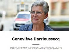 Visite de Mme Geneviève Darrieussecq,Secrétaire d'État auprès de la Ministre des armées