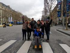 Des gilets jaunes du Magny à Paris...