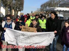 Réactualisé - Manifestation de parents d'élèves, ce mercredi matin, à Montchanin