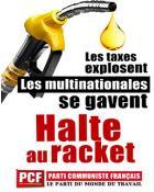 """""""Hausse des prix des carburants: halte au racket ! """" (Politique)"""