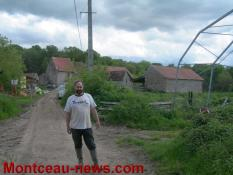 Agriculture – A la rencontre d'un éleveur atypique au Mont-Saint-Vincent...