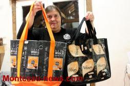 Elle donne une seconde vie aux déchets à Saint-Vallier