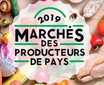 Marchés des producteurs de pays 2019, c'est reparti !