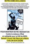 En soutien à Notre Dame des Landes (Politique - Environnement)