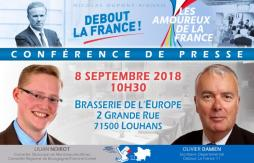 8 septembre : rentrée politique (Saône-et-Loire)