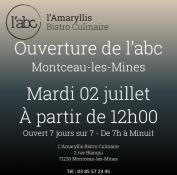 Bistro culinaire l'ABC à Montceau (Commerce)