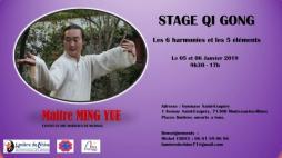 """Stage de Qi Gong de """"Lumière de Chine"""" (Montceau)"""