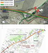 Aménagement à 2x2 voies de la RCEA entre Paray-le-Monial et Montceau-les-Mines