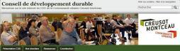 Lancement du site internet du Conseil de développement durable de la communauté urbaine Creusot Montceau