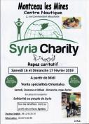 Au profit de Syria Charity (Montceau - solidarité)