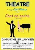 """Théâtre : """"Chat en poche"""" à l'Espace Culturel Saint Léger de Bourbon-Lancy (Sortir)"""