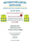 """""""Acte XVII"""" des gilets jaunes du Magny (Social)"""