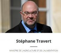 Stéphane TRAVERT en Saône-et-Loire le  samedi 16 décembre 2017