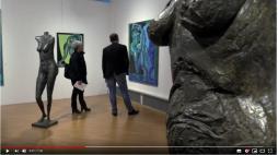 Exposition d'Alessandro Montalbano à l'Embarcadère (Voir la vidéo)