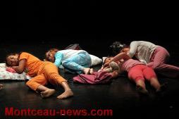 Spectacle ateliers théâtre avec l'Abreuv'art des galipotes à Saint-Vallier