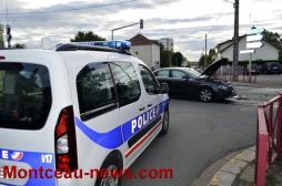 Accident de la circulation à Montceau