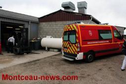 Faits divers - Accident du travail zone Saint-Elisabeth à Montceau-les-Mines