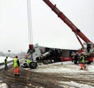 Accident sur la la RN79 (RCEA)