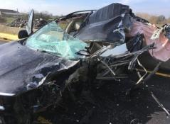 Faits divers : accident sur la RCEA à la hauteur de Palinges...