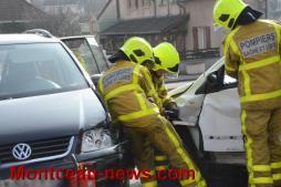 Faits divers - accident à Montceau...