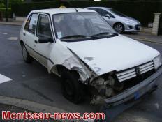 Faits divers : accident ce jeudi soir à Sanvignes...