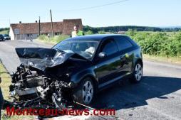 Faits divers : Accident au lieu-dit les Perrons sur le Mont St Vincent