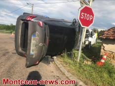 Faits divers : accident à Genouilly...