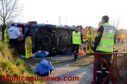 Suite du  très grave accident sur une bretelle de la RCEA…(VOIR NOTRE VIDEO)...