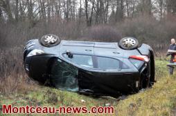 Accident ce vendredi matin à Blanzy sur la RN70